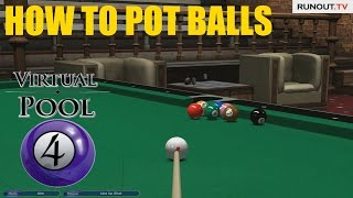 How to Pot Balls in Virtual Pool 4