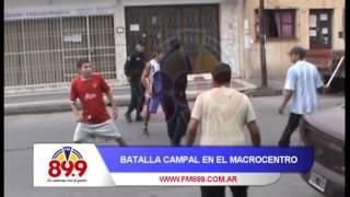 Video: Batalla campal en la macro centro