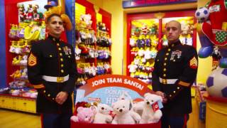 Toys For Tots And Build-a-bear Workshop