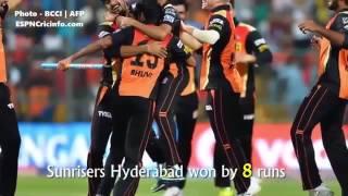 IPL Final 2016   RCB vs SRH   SRH Won By 8 Runs   Full match 1