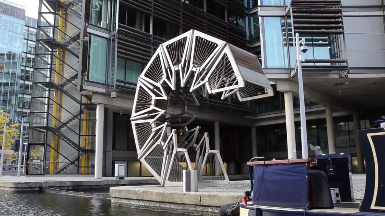 Ponte Rolling Bridge Londres Youtube