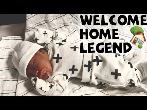 Bringing Our Newborn Home | Baby Boys First Outfit