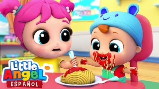 Buenos Modales al Comer | Canciones Infantiles | Little Angel Español