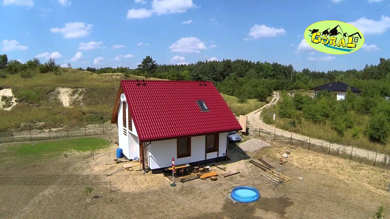 Dom o konstrukcji drewnianej - projekt: Z 71d