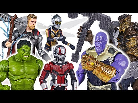 Thanos, villains invaded! Marvel Avengers Infinity War Ant-Man, Wasp, Hulk, Thor! Go! - DuDuPopTOY