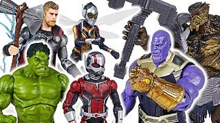 Thanos, villains invaded! Marvel Avengers Infinity War Ant-Man, Wasp, Hulk, Thor! Go! - DuDuPopTOY