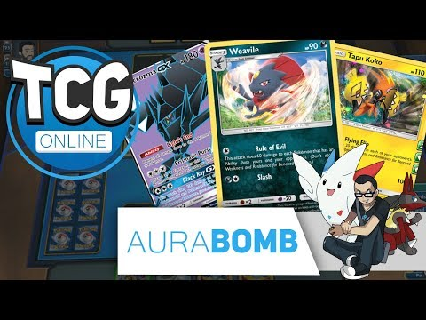 7 PRIZE TURNS, THE RULE OF EVIL!!! | PTCGO Live STANDARD #170 w/ AuraBomb