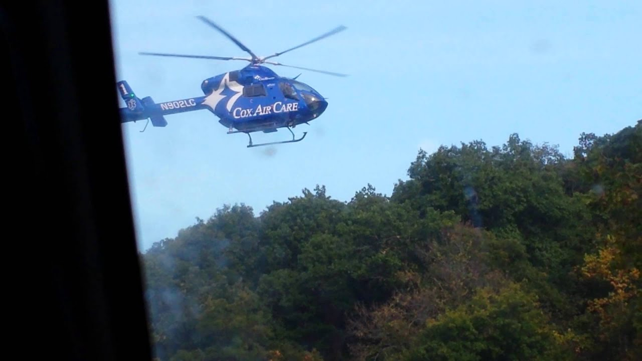 Cox Health Helicopter