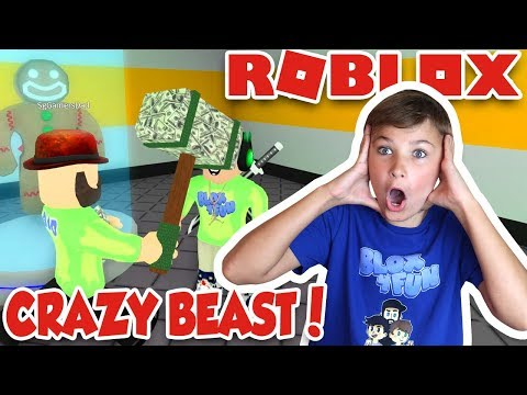 GETTING BULLIED BY THE CRAZY BEAST in ROBLOX FLEE THE FACILITY | RUN, HIDE, ESCAPE!