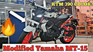 Don't BUY Yamaha MT-15 without watching this!!|2019 Modified Yamaha MT-15 New Updated Color|#Yamaha