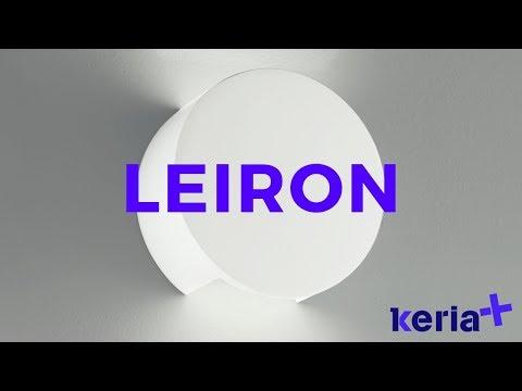 Applique LuminairesVidéo Design Keria Murale Leiron Youtube bf76gy