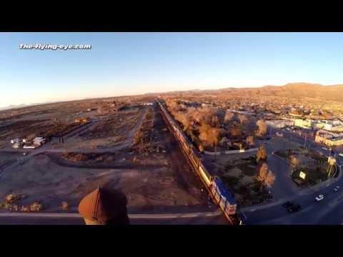 THE-FLYING-EYE over Alamogordo - New Mexico