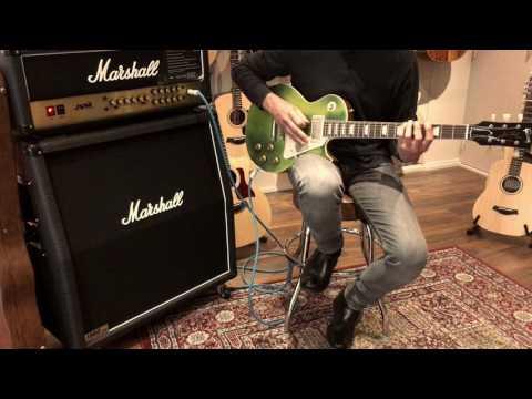 Gibson Les Paul Reissue 59 M2M Candy Lire Green Metallic