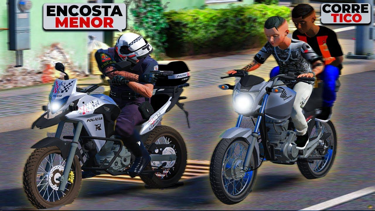 FUGA DA ROCAM DE START 160 COM O @PAULIN | GTA 5: VIDA REAL #93