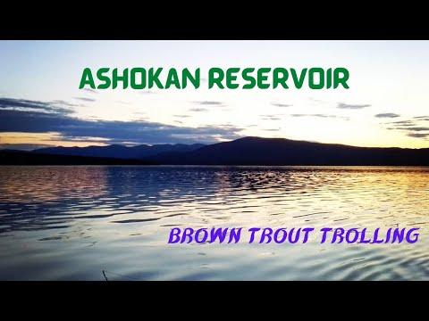 Ashokan Reservoir Fishing | Brown Trout Trolling (June 2020)