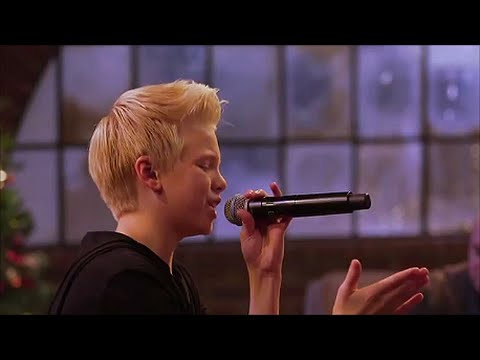 Up On The House Top by Carson Lueders (Live at YouTube Space LA) (Lyrics)