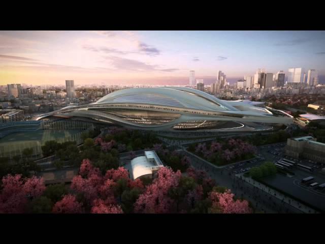 האיצטדיון האולימפי המתוכנן בטוקיו 2020