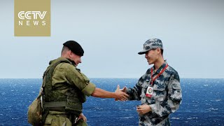 """China and Russia's """"Joint Sea 2016"""" naval drill"""
