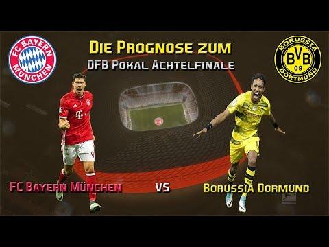 FC Bayern München vs Borussia Dortmund die Prognose zum DFB Pokal Achtelfinale 17/18