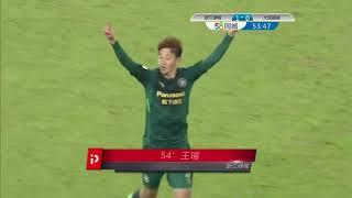 2018 CHA League one   Round 2   Hangzhou Greentown vs Dalian Chaoyue
