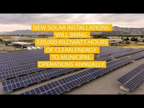 Look Back: New Solar Panels in SLC