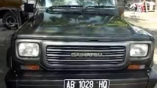 Daihatsu Taft GT 1992, Total Body Repaint