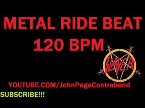 Metal Ride Beat Loop 120 BPM Drums Only