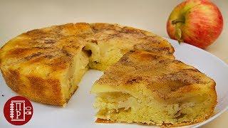 Пирог с Яблоками Проще Простого! Перевёртыш