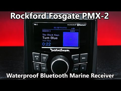 Rockford Fosgate PMX-2 Waterproof Bluetooth Marine Receiver