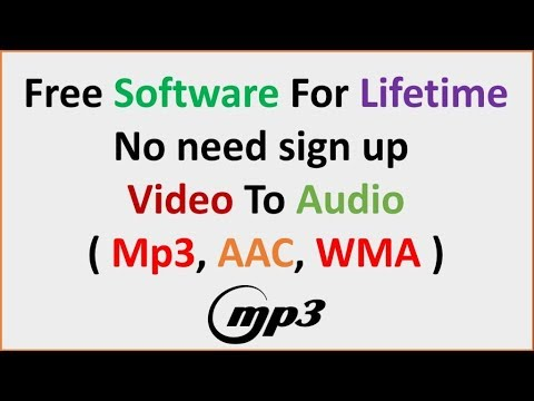 Best Video To Audio Converter Software For PC & MAC 2018