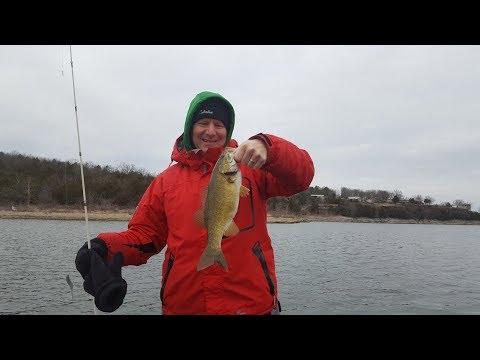 table rock lake fishing report january 2 2018 youtube