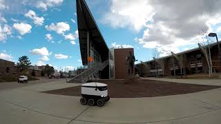 Starship robots roll onto Northern Arizona University's campus