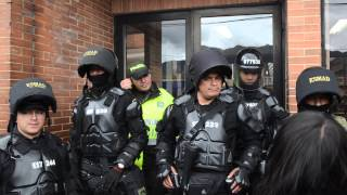"""ESMAD """"proteje"""" a la ciudadanía en juzgados de Paloquemao"""