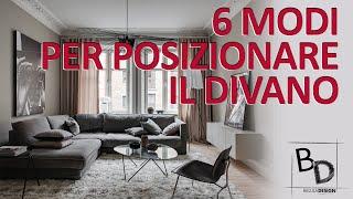 Anche quadrato se secondo voi si addice meglio), divano/i e/o poltrone , tv. 6 Modi Per Posizionare Il Divano Belula Design Youtube