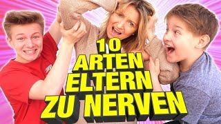 10 ARTEN ELTERN ZU NERVEN 🤣 Am Rand des Wahnsinns 😁 KRASS TipTapTube