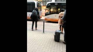 Des dizaines de bus bloqués chaque jour a Rue Luxembourg à Bruxelles