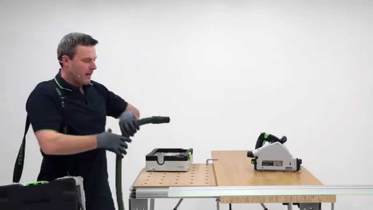 festool tv folge 57 ctl sys der erste sauger im. Black Bedroom Furniture Sets. Home Design Ideas