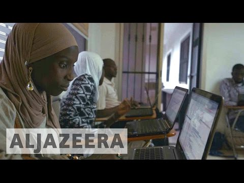 Senegal women coders