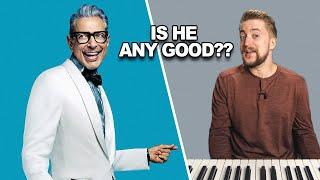 Jeff Goldblum Plays JAZZ PIANO?!