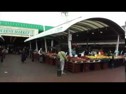 Queens Market   Upton Park in London