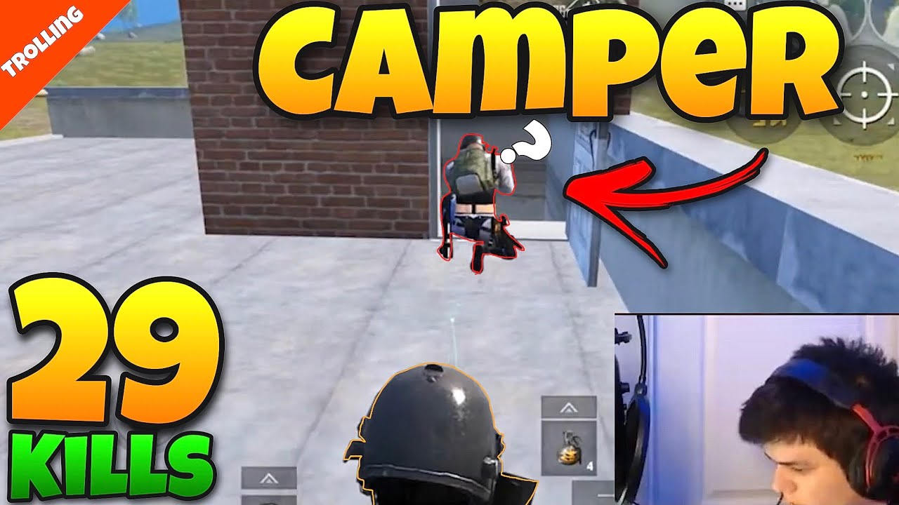 How To Get REPORTED In PUBGM - (Op Trolling)