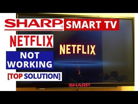 How to setup netflix on a sharp smart tv