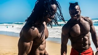 African Beasts Alseny and Sekou @ Huntington Beach W/ Strength Project thumbnail