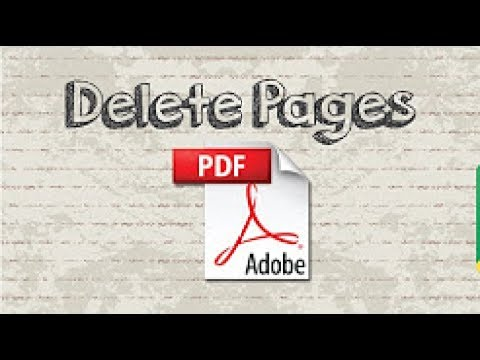 How to delete pages from PDF file Online [Bangla]