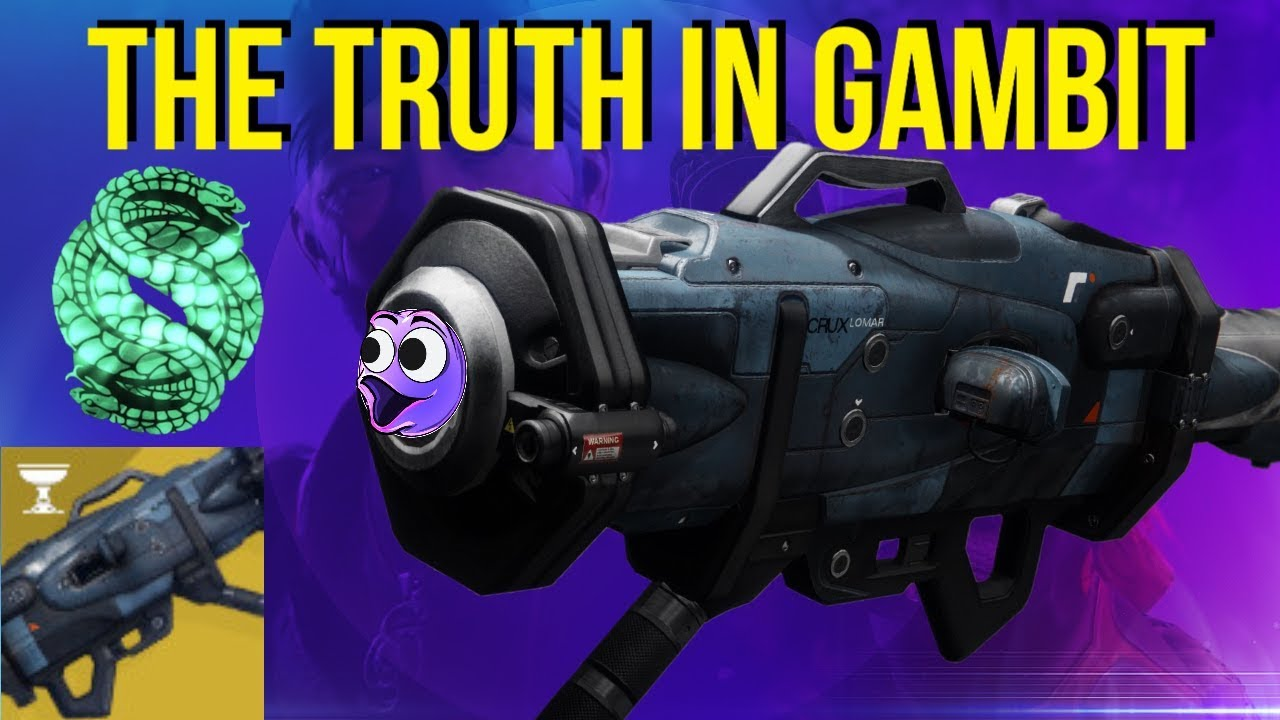 The TRUTH In Gambit (Insane Tracking) Destiny 2 Season Of Opulence