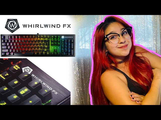 NEW | WhirlWindfx Element Mechanical Keyboard Test!