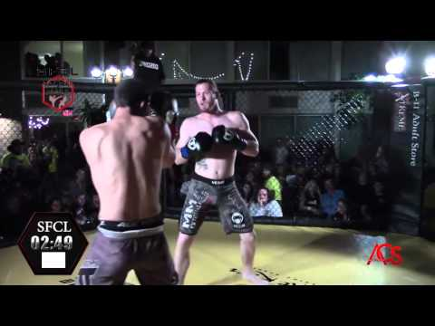 So Fly Combat League The Lost Octoboer Fights Dennis Vance Vs. Troy Wilson