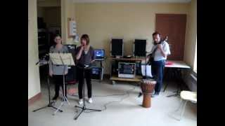 """A ma place"" Axel Bauer et Zazie cover by Laura, Steph et Eric"