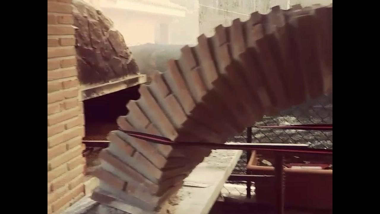 Arco mattoni a faccia vista arco elicoidale arco giraffa for Costo per costruire pilastri di pietra