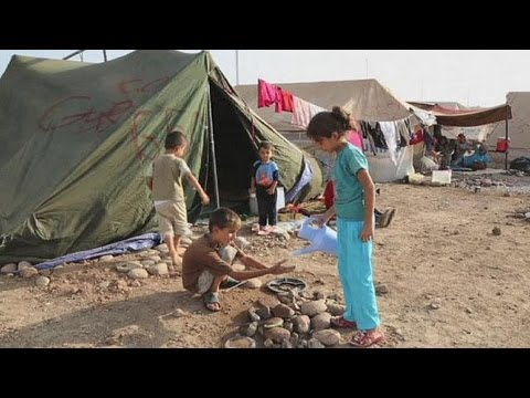 A Syrian child's wish as the number of refugees tops the million mark